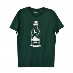 Botella campada